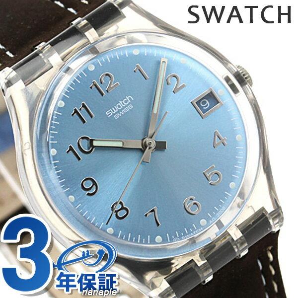 スウォッチ SWATCH 腕時計 スイス製 スタンダードジェント デイト GM415 時計【あす楽対応】