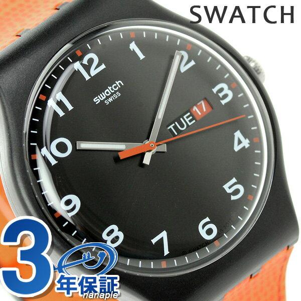 【エントリーだけでポイント2倍 27日9:59まで】 スウォッチ SWATCH 腕時計 スイス製 オリジナル ニュー ジェント フォー・フォックス SUOB709 時計