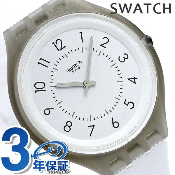 スウォッチ SWATCH 腕時計 スイス製 スキン ビッグ 40mm 薄型 SVUM101 時計【あす楽対応】