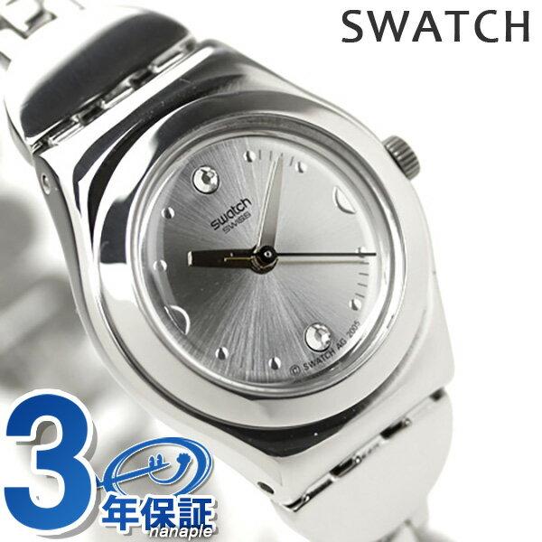 スウォッチ SWATCH 腕時計 スイス製 アイロニー レディ ディープストーンズ YSS213G