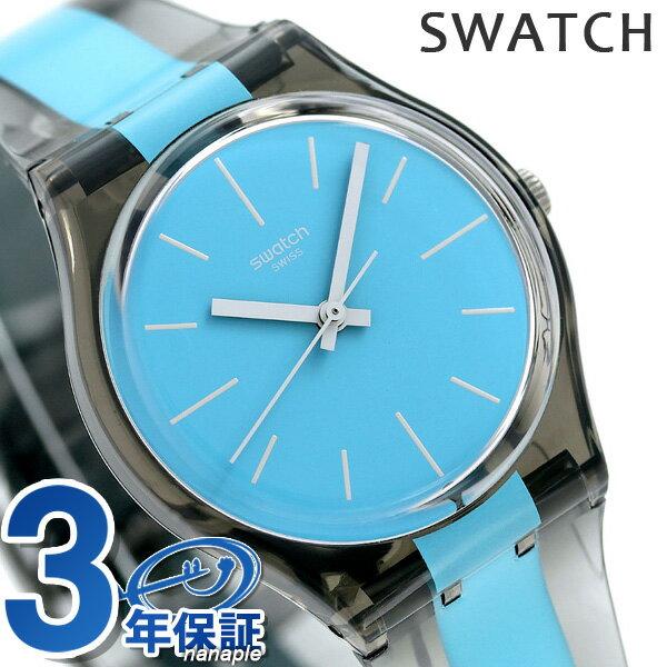 スウォッチ SWATCH オリジナル ジェント 腕時計 GM186 ブルー×ブラック 時計【あす楽対応】