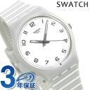 スウォッチ SWATCH 腕時計 メンズ レディース ボーダー グレー GM190 オリジナルズ ジェント グレーア 時計【あす楽対応】