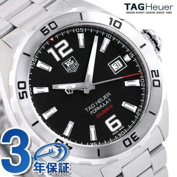 タグホイヤー フォーミュラ1 41mm 自動巻き メンズ 腕時計 WAZ2113.BA0875 TAG Heuer ブラック 時計【あす楽対応】