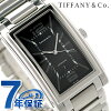Tiffany ground self-winding watch men watch Z0031.68.10A10A00A TIFFANY & Co. Black metal belt new article