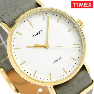 타이멕스위크엔다페아피르드 41 mm TW2P98000 TIMEX 손목시계 크림