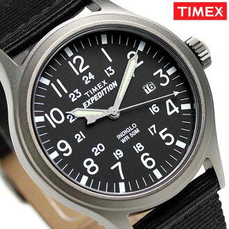 Timex遠征選拔40mm手錶TW4B06900 TIMEX黑色×棕色