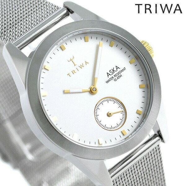 トリワ TRIWA アスカ スノー 32mm レディース 腕時計 AKST102-MS121212 ホワイト 時計【あす楽対応】
