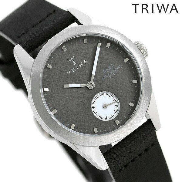 トリワ TRIWA 時計 スレートアスカ レディース 腕時計 AKST107-SS010212 グレーシルバー×ブラック【あす楽対応】