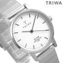 【今なら店内ポイント最大49倍】 TRIWA トリワ 時計 スウェーデン 北欧 シンプル メッシュベルト 28mm レディース 腕時計 エルバ ELST101-EM021212【あす楽対応】