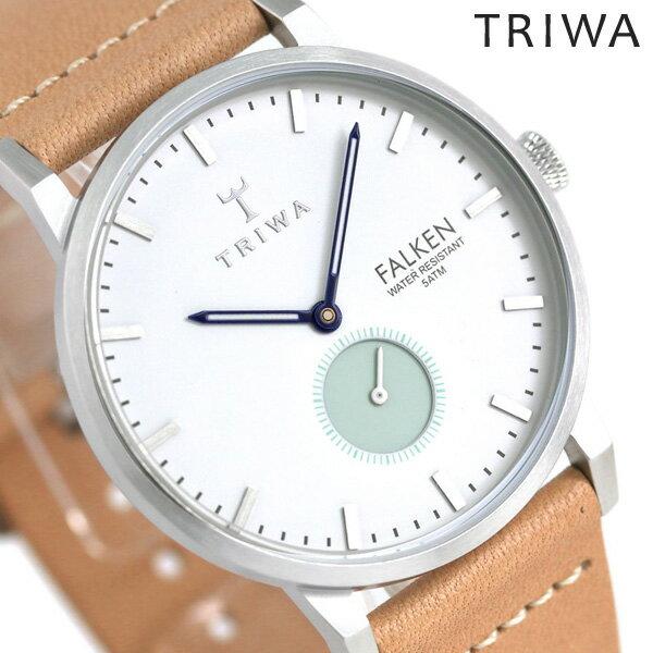 トリワ TRIWA ファルケン ウェーブ 38mm スモールセコンド FAST114-CL010612 腕時計 時計【あす楽対応】