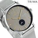 トリワ TRIWA 時計 メンズ レディース 腕時計 FAST119-ME021212 スモーキー ファルケン グレー