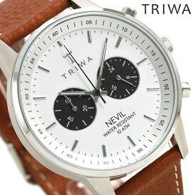 TRIWA トリワ 時計 スウェーデン 北欧 クロノグラフ 42mm ユニセックス 腕時計 ネビル NEST119-TS010212【あす楽対応】