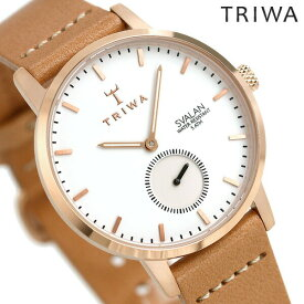 【25日なら全品5倍以上!店内ポイント最大37倍】 TRIWA トリワ 時計 スウェーデン 北欧 スモールセコンド 34mm レディース 腕時計 スバーラン SVST104-SS010614【あす楽対応】