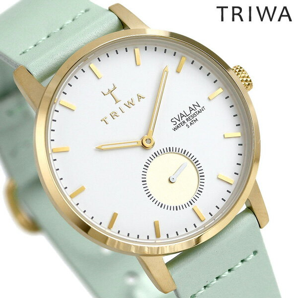 TRIWA トリワ 時計 スウェーデン 北欧 スモールセコンド 34mm レディース 腕時計 スバーラン SVST105-SS113113【あす楽対応】