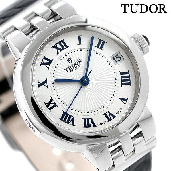 チュードル TUDOR クレア ド ローズ 34mm 革ベルト スイス製 35800 レディース 腕時計 時計