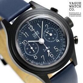 ヴァーグウォッチ ツーアイズ 38mm クロノグラフ 腕時計 2C-L-006 VAGUE WATCH Co. 時計