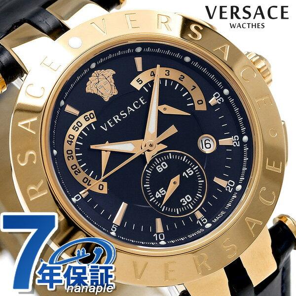 ヴェルサーチ 時計 メンズ VERSACE 腕時計 クロノグラフ Vレース 23C80D282S282【あす楽対応】