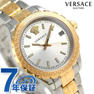 verusachihereniumukuotsusuisu制造女士V12030015 VERSACE手表银子×粉红黄金新货