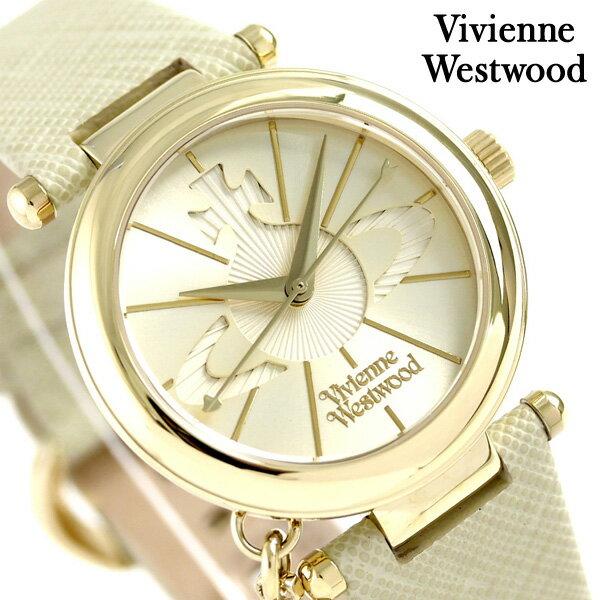 ヴィヴィアン 時計 レディース オーブポップ 32mm VV006GDCM Vivienne Westwood ゴールド 腕時計【あす楽対応】