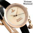 ヴィヴィアン 時計 レディース ボウ 32mm VV139RSBK Vivienne Westwood ピンクゴールド 腕時計【あす楽対応】