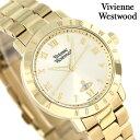 ヴィヴィアン 時計 レディース ブルームズベリー 34mm VV152GDGD Vivienne Westwood ゴールド 腕時計