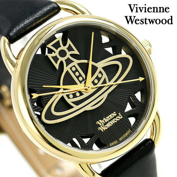 【エントリーだけでポイント3倍 27日9:59まで】 ヴィヴィアン・ウエストウッド リーデンホール レディース VV163BKBK 腕時計 Vivienne Westwood 時計