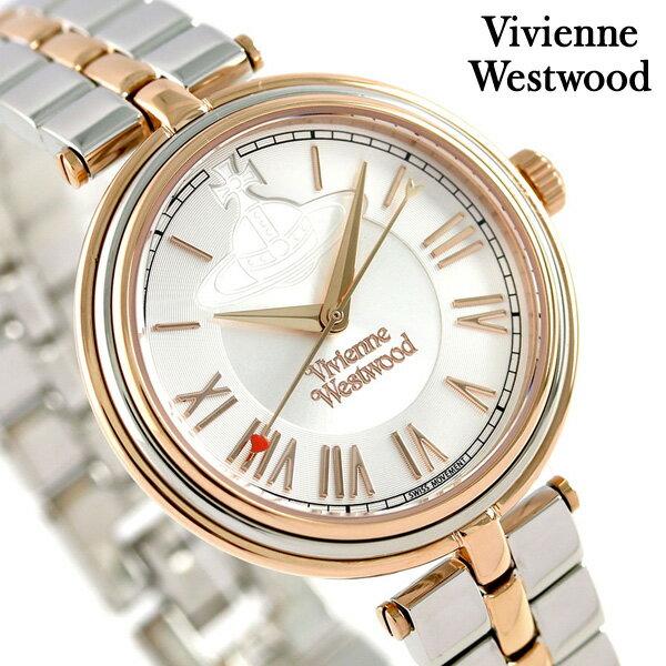 ヴィヴィアン 時計 レディース ファリンドン 34mm VV168RSSL Vivienne Westwood シルバー