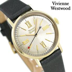 【当店なら!3,000円割引クーポン】 ヴィヴィアン ウエストウッド 時計 レディース VV170GYBK Vivienne Westwood 腕時計 ゴールド×メタリックグレー【あす楽対応】