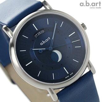 에이비아트 KLD 시리즈 문 페이즈 KLD203 a.b.art 맨즈 손목시계 쿼츠 블루