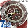 엔젤 클로버-시크 루즈 크로노그래프 맨즈 SC47SRE-RE Angel Clover 손목시계 레드