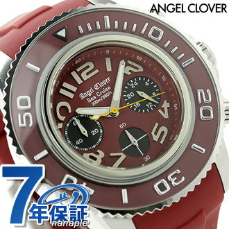 Angel clover sea Cruise chronograph men SC47SRE-RE Angel Clover watch red