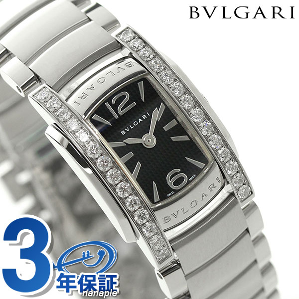 【当店なら!さらにポイント+4倍!20日23:59まで】ブルガリ 時計 レディース BVLGARI アショーマ D 腕時計 AA26BSDS