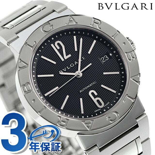 【エントリーで最大14倍 18日10時〜】ブルガリ 時計 メンズ BVLGARI ブルガリ38mm 腕時計 BB38BSSDAUTO【あす楽対応】