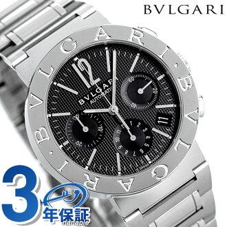 Bulgari clock men BVLGARI Bulgari 38mm watch BB38BSSDCH