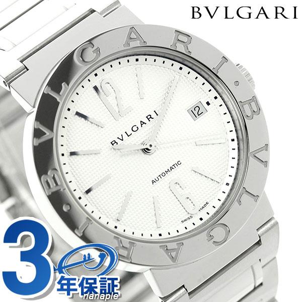 【エントリーで最大14倍 18日10時〜】ブルガリ 時計 メンズ BVLGARI ブルガリ38mm 腕時計 BB38WSSDAUTO【あす楽対応】