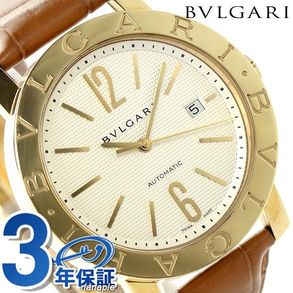 【エントリーで最大14倍 18日10時〜】ブルガリ 時計 メンズ BVLGARI ブルガリ42mm 腕時計 BB42WGLDAUTO