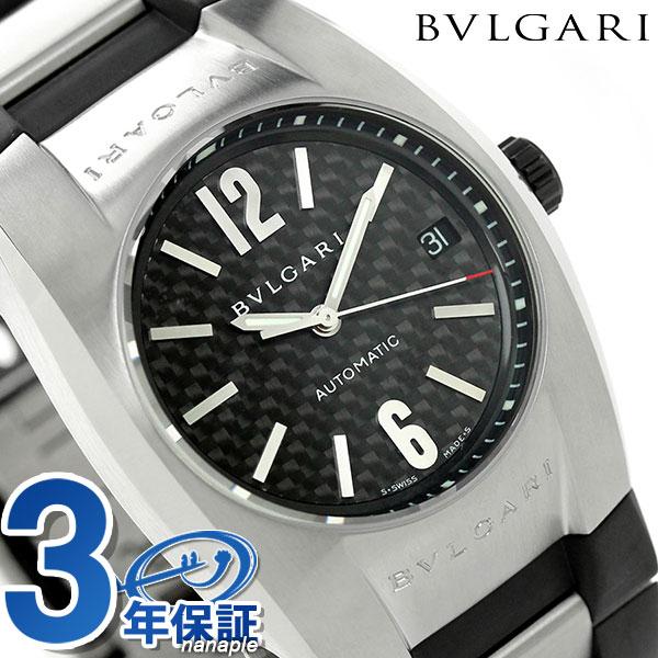 ブルガリ 時計 BVLGARI エルゴン 35mm 自動巻き 腕時計 EG35BSVD