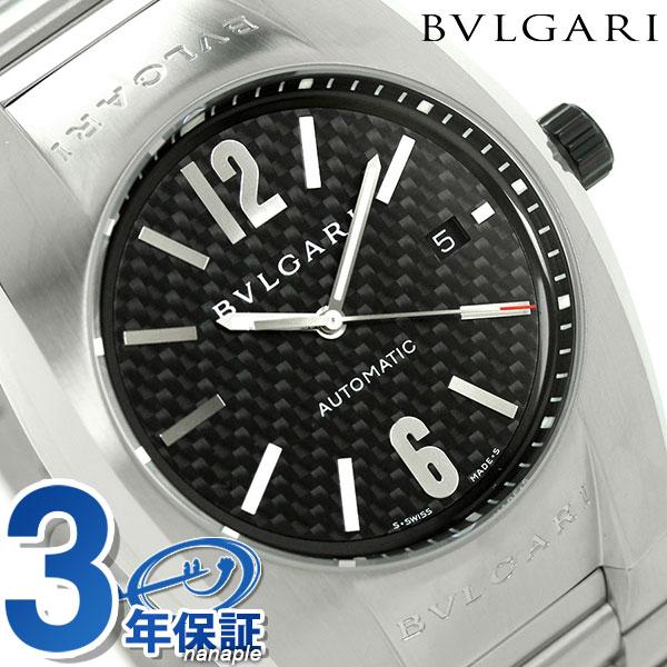 【エントリーで最大14倍 18日10時〜】ブルガリ 時計 メンズ BVLGARI エルゴン 40mm 腕時計 EG40BSSDN【あす楽対応】