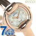 グッチ 時計 レディース 1400 ホワイトシェル×ピンクゴールド GUCCI YA014519