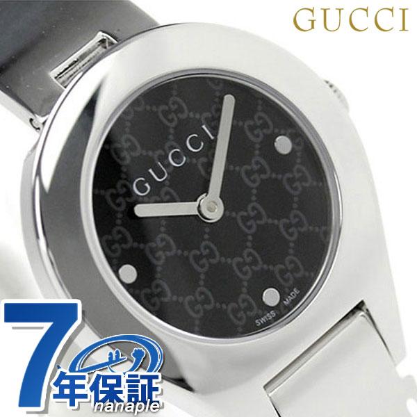 グッチ 時計 レディース GUCCI 腕時計 6700 ブラック YA067505