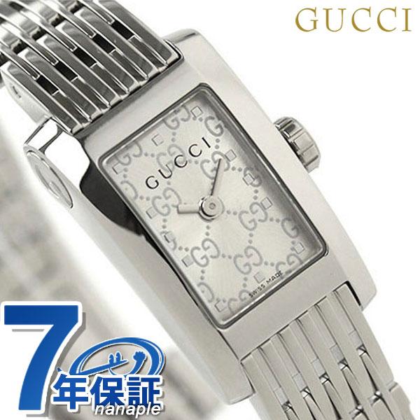 【1000円割引クーポン 20日9時59分まで】 グッチ 時計 レディース GUCCI 腕時計 シルバー YA086513