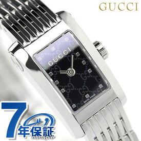 【今なら店内ポイント最大44倍】 グッチ 時計 レディース GUCCI 腕時計 ブラック YA086514