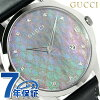Gucci G thymeless slim diamond men watch YA126307 GUCCI gray shell X gray