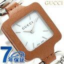 【エントリーで10倍 18日10時〜】グッチ 時計 レディース GUCCI 腕時計 クオーツ 1921 コレクション YA130401 ホワイト × ブラウン