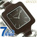 グッチ 1921 コレクション レディース 腕時計 YA130403 GUCCI ダークブラウン