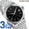 Hamilton variant auto date ladies H39415134 HAMILTON watch automatic movement black P25Jun15