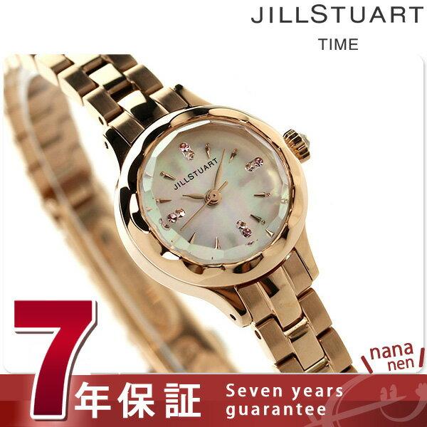 ジルスチュアート フラワー リング レディース 腕時計 NJAF001 JILLSTUART ホワイトシェル×ピンクゴールド 時計