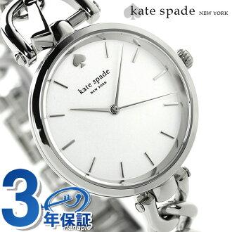 凯特黑桃纽约荷兰女士1YRU0815 KATE SPADE NEW YORK手表银子