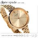 ケイトスペード ニューヨーク ホランド レディース KSW1134 KATE SPADE 腕時計 ローズゴールド×ローズゴールド