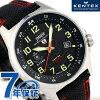 켄텍스 JSDF 솔러 스탠다드 일본제 S715M-03 Kentex 맨즈 손목시계 블랙
